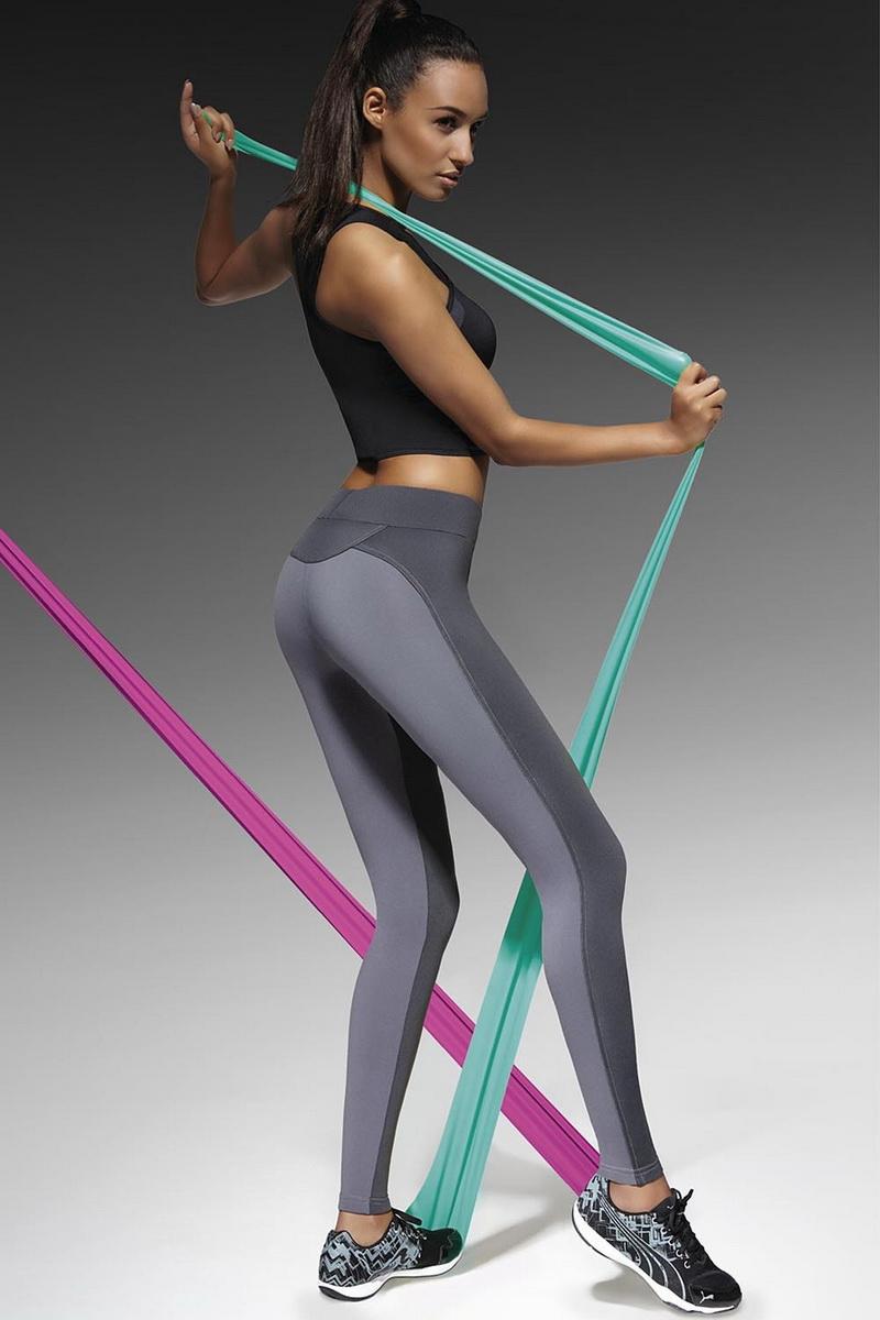 Fitness legíny BasBleu Victoria (velikost XL)