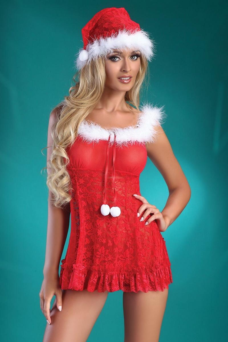 Vánoční kostým LivCo Corsetti Christmas Bell (velikost L/XL)