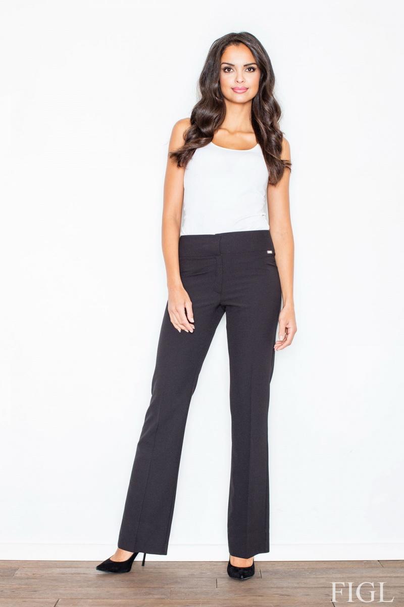Dámské kalhoty Figl M420 černé (velikost L)