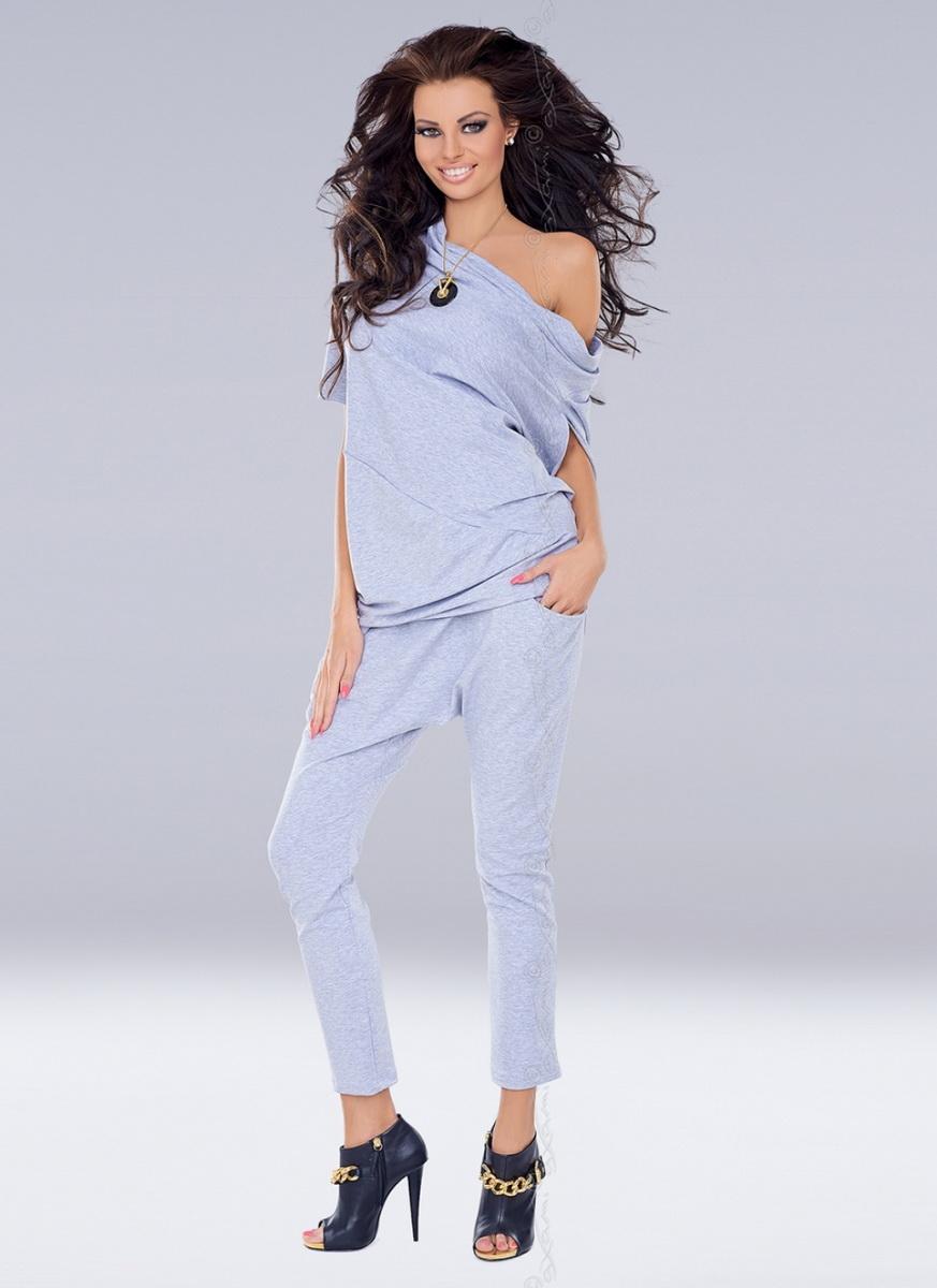 Dámské kalhoty Axami VU-0047 šedé (velikost S/M)