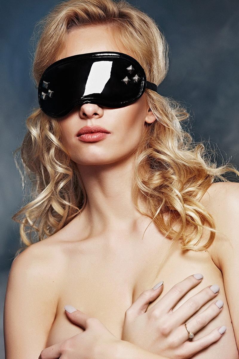 Erotická maska 7-Heaven A7790 černá