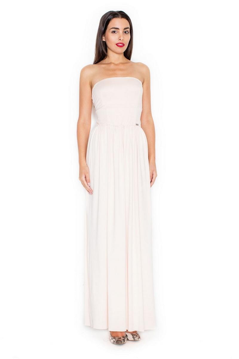 Dámské šaty Katrus K252 růžové (velikost XL)