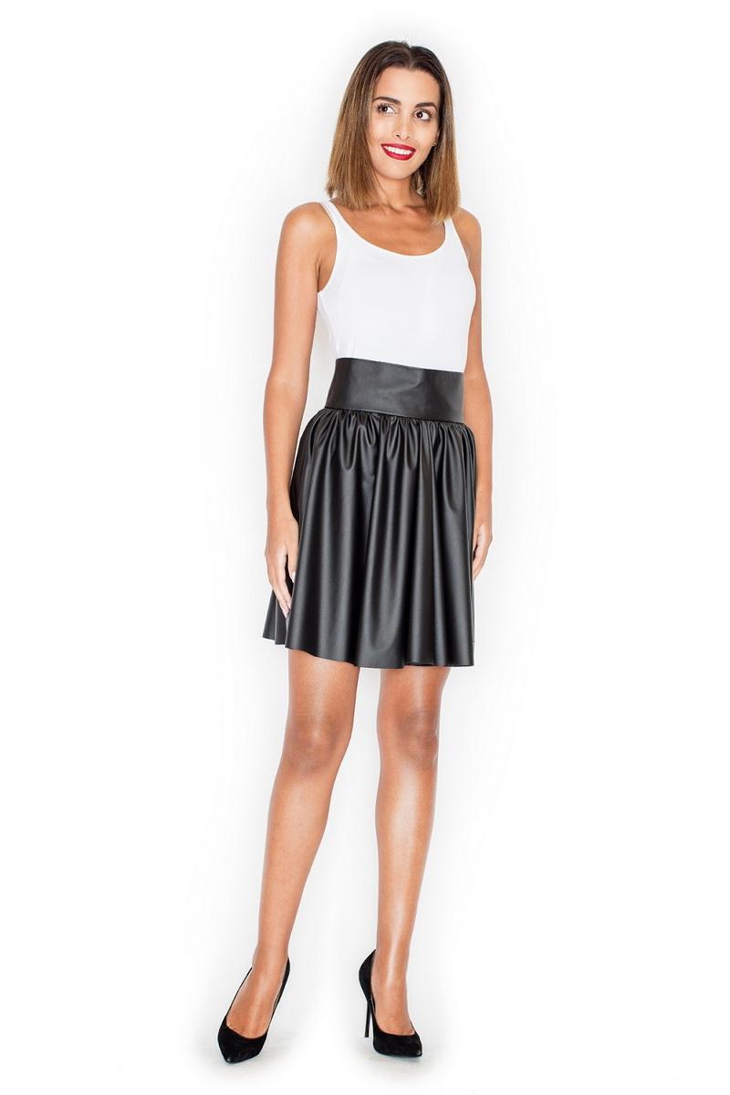 Dámská sukně Katrus K326 černá (velikost S)