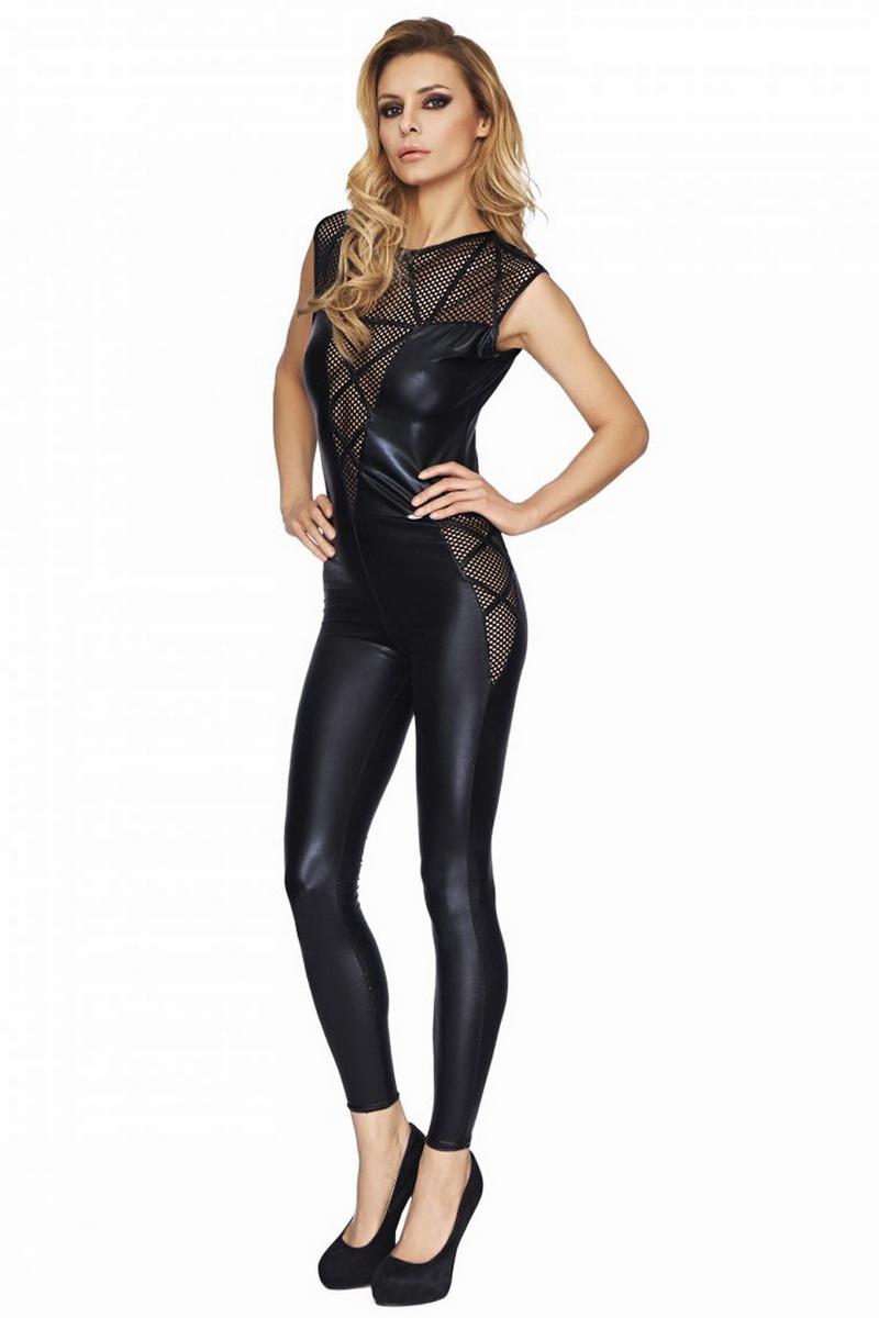 Erotický kostým 7-Heaven Mogi černý (velikost S/M)