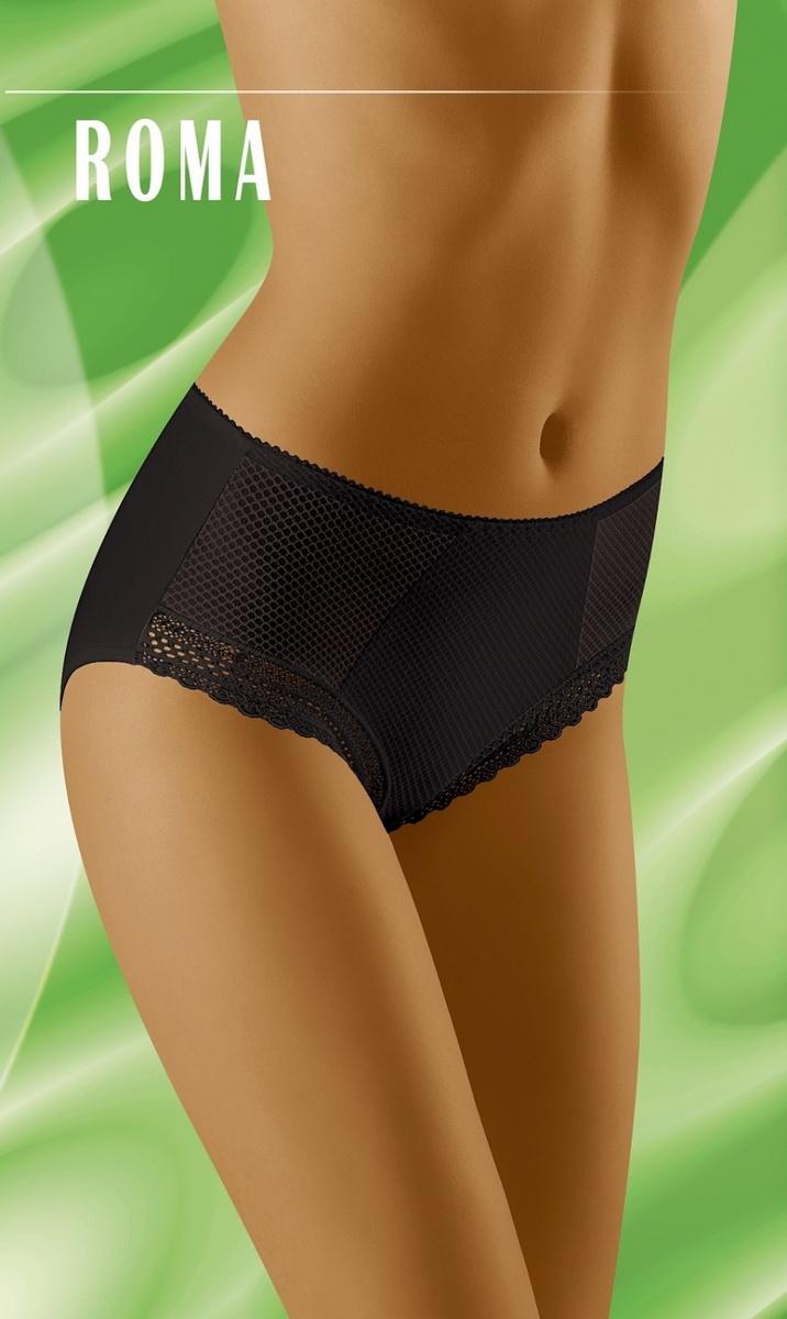 Dámské kalhotky Wolbar Roma černé (velikost XXL)