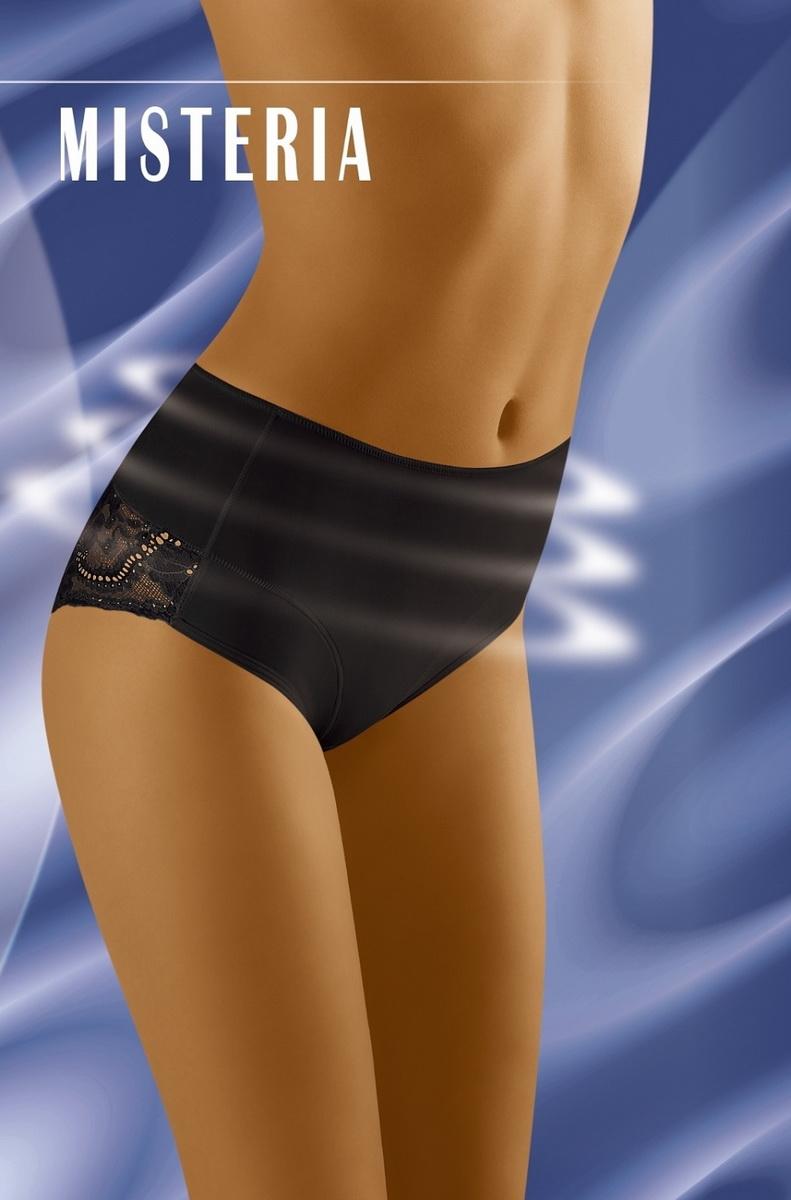 Stahovací kalhotky Wolbar Misteria černé (velikost XL)