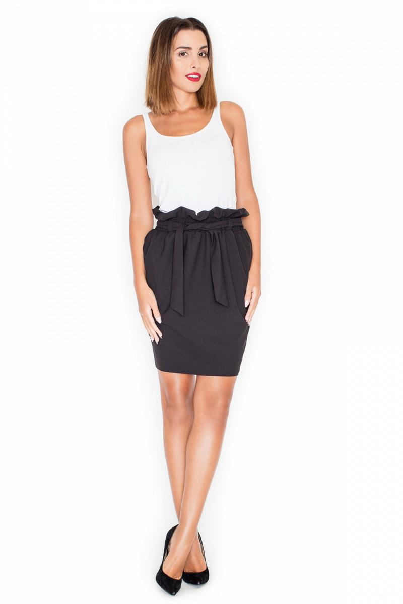Dámská sukně Katrus K327 černá (velikost S)