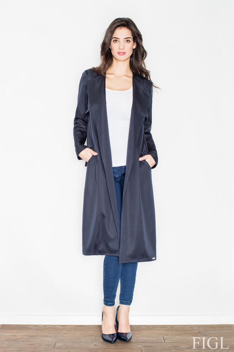 Dámský kabát Figl M427 granátový (velikost XL)