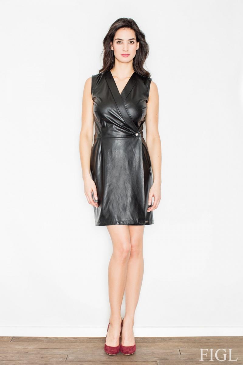 Dámské šaty Figl M430 černé (velikost S)