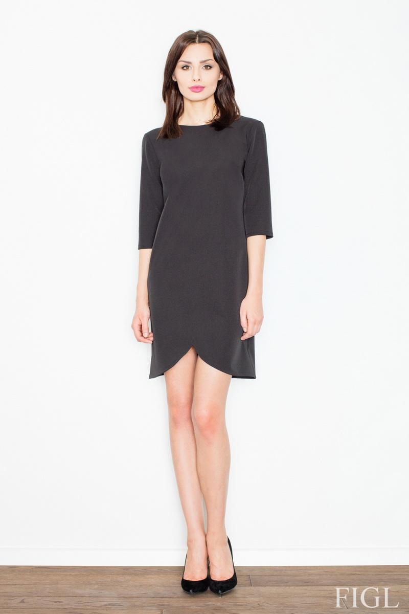 Dámské šaty Figl M449 černé (velikost S)