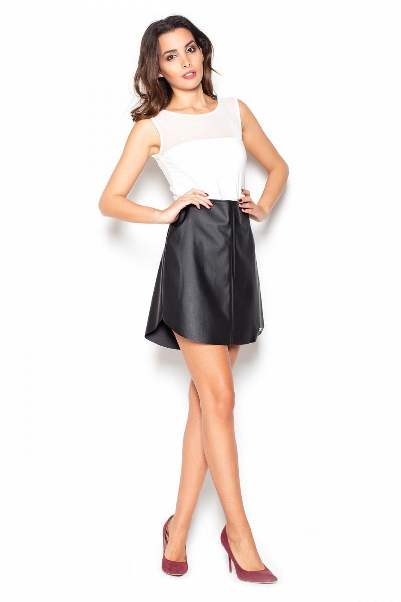 Dámská sukně Katrus K371 černá (velikost S)