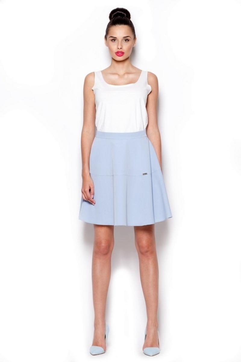 Dámská sukně Figl M285 modrá (velikost S)