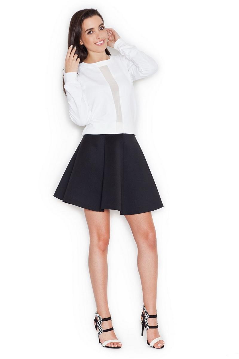 Dámská sukně Katrus K268 černá (velikost M)