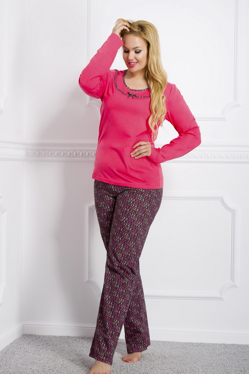 Dámské pyžamo Taro Ismena 869 červené (velikost L)