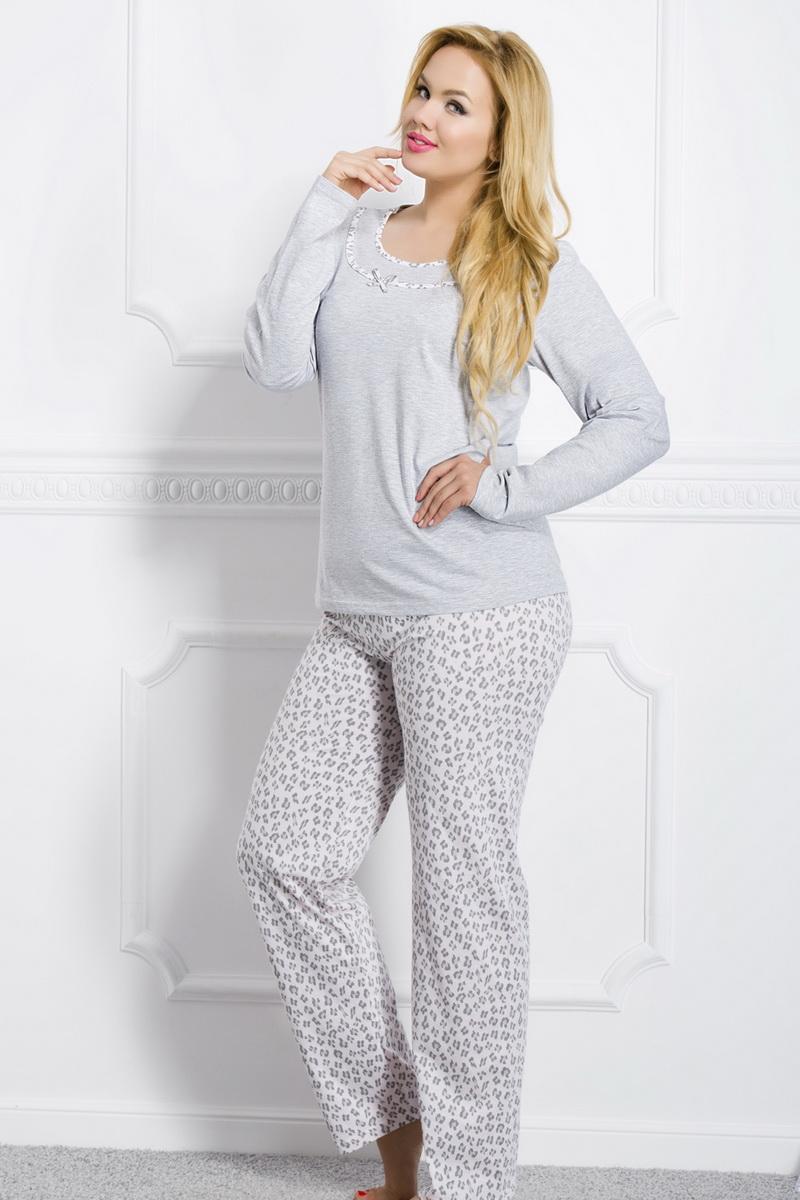 Dámské pyžamo Taro Ismena 1042 šedé (velikost XXL)