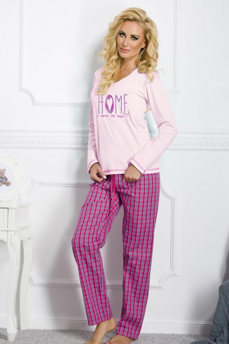 Dámské pyžamo Taro Larysa 1197 růžové (velikost M)
