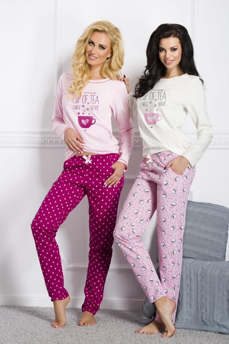 Dámské pyžamo Taro Sara 1003 růžové (velikost XL)