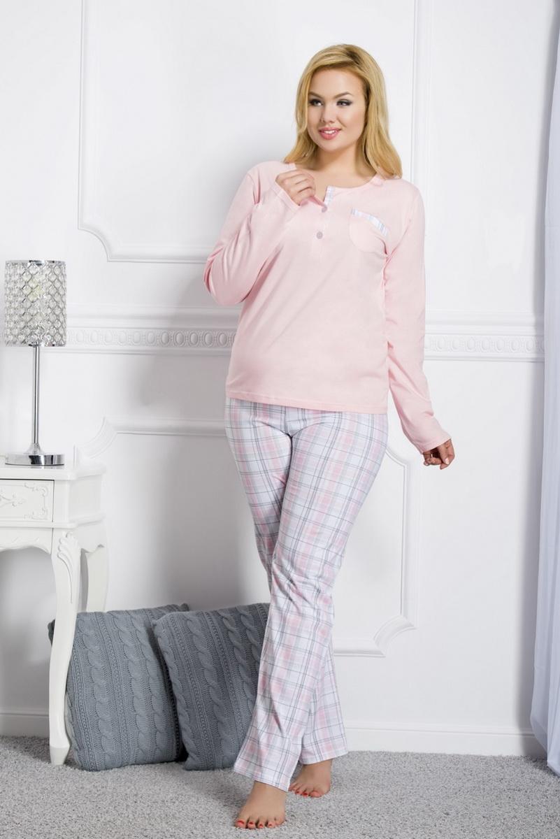Dámské pyžamo Taro Gizela 2006 růžové (velikost XXL)