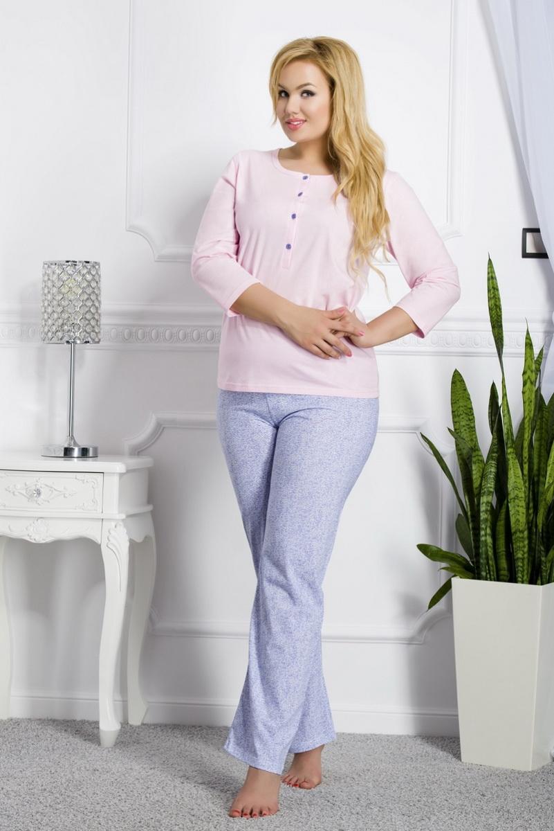 Dámské pyžamo Taro Teresa 2008 růžové (velikost XXL)