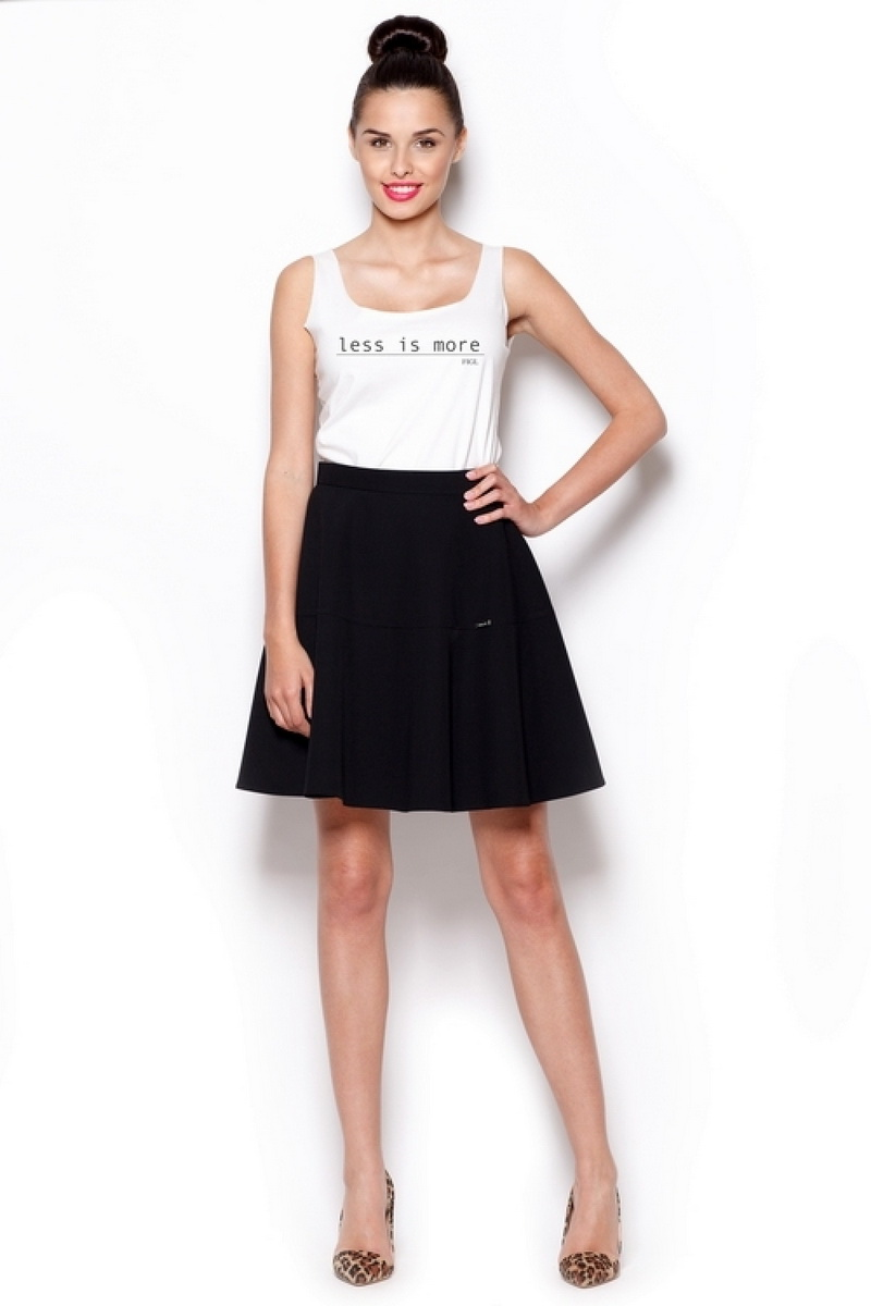 Dámská sukně Figl M285 černá (velikost M)