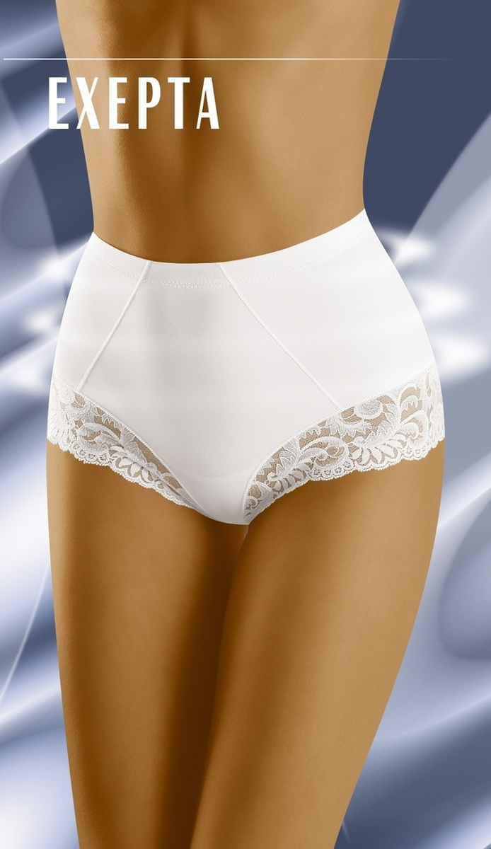 Stahovací kalhotky Wolbar Exepta bílé (velikost L)