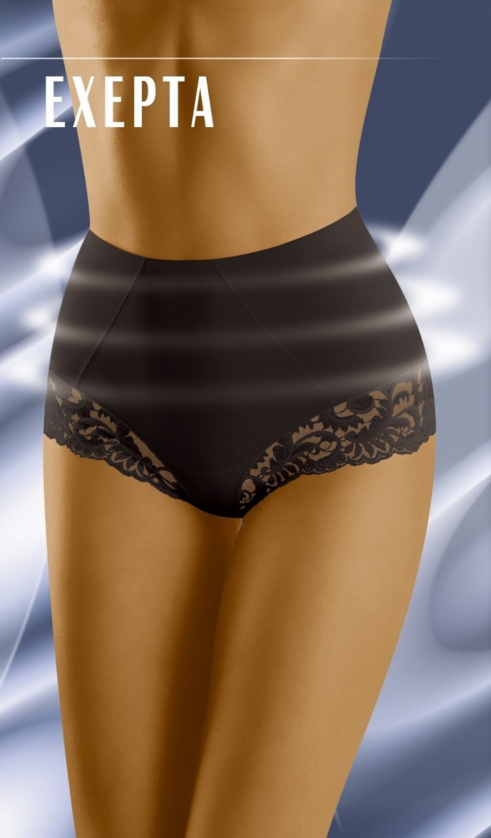 Stahovací kalhotky Wolbar Exepta černé (velikost L)