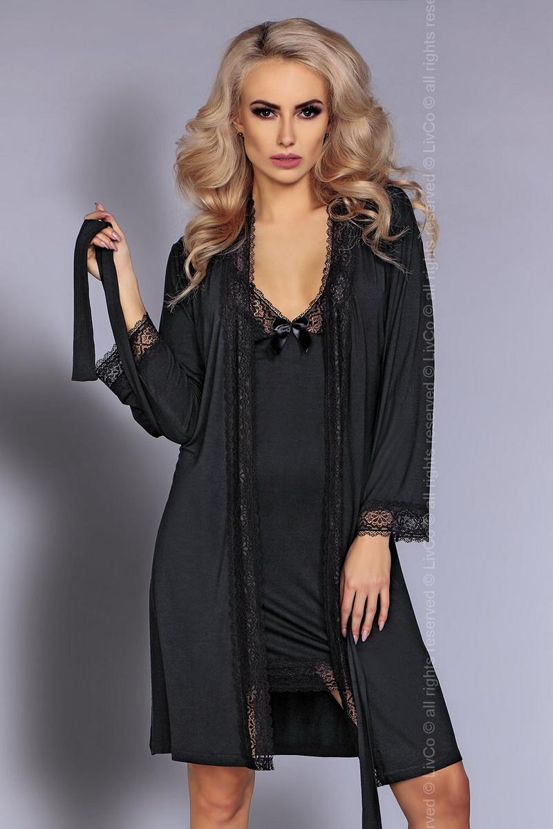 Dámská souprava LivCo Corsetti Luisanna černá (velikost S/M)