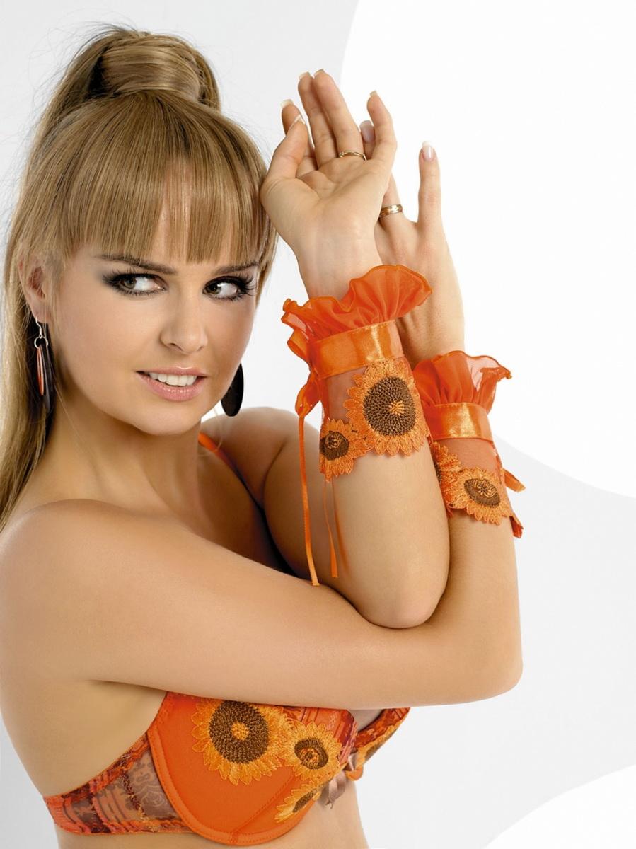 Ozdoba na ruce AXAMI V-1145 INTENSSIMO oranžová