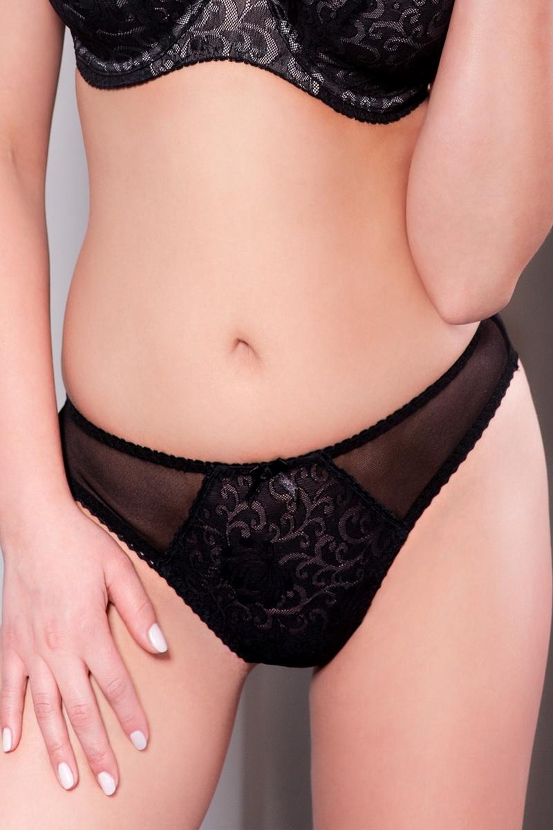 Dámské kalhotky Ava 1209 černé (velikost XL)