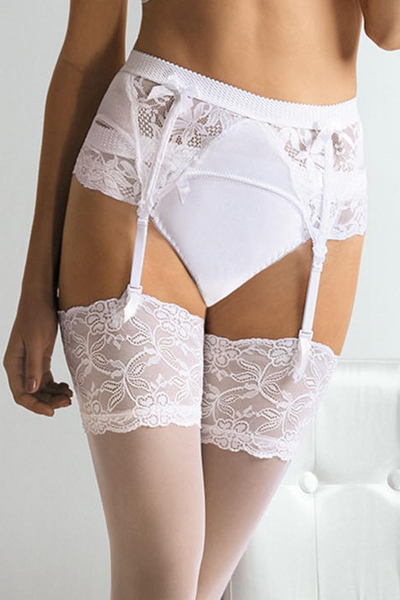 Dámské kalhotky Ava 1314 bílé (velikost M)