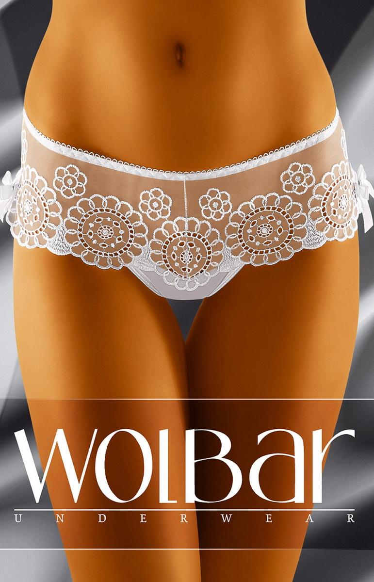 Dámské tanga Wolbar Yoko bílé (velikost L)