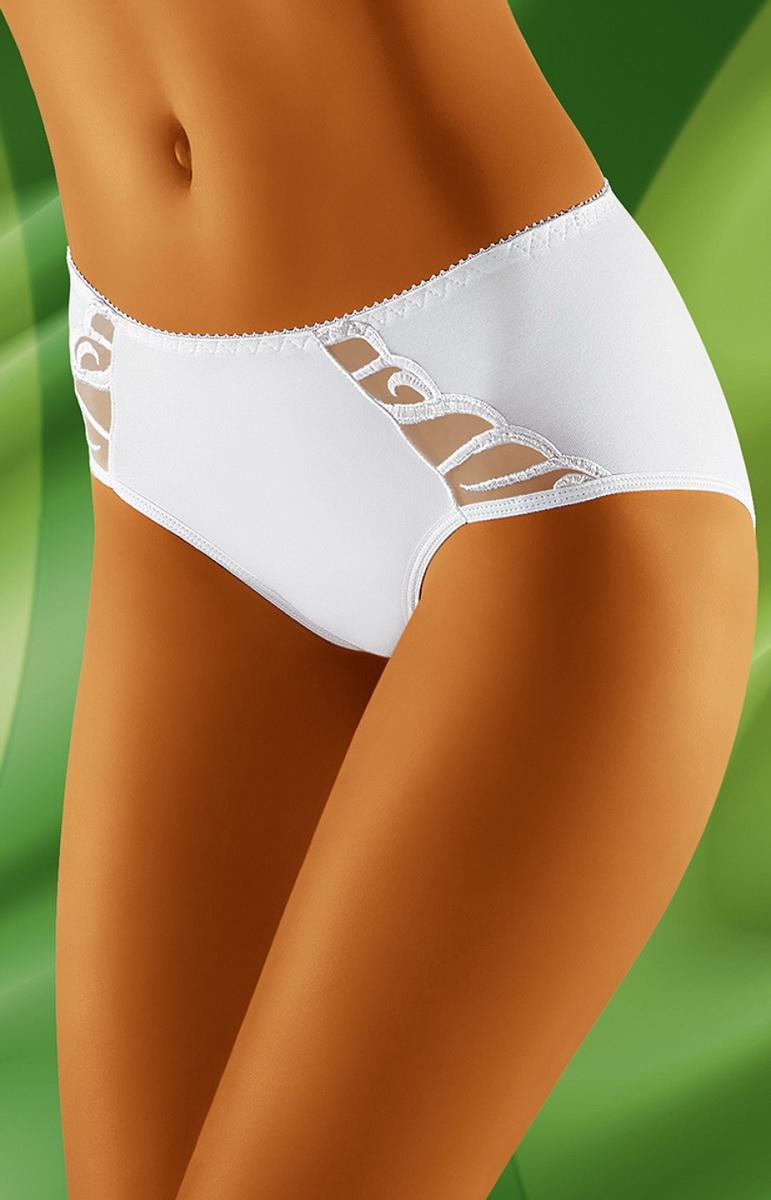 Dámské kalhotky Wolbar Megi bílé (velikost XXL)