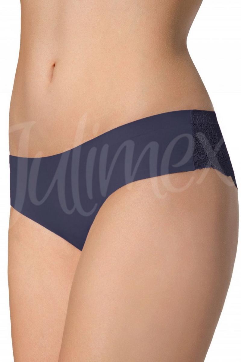 Dámské kalhotky Julimex Tanga modré (velikost S)
