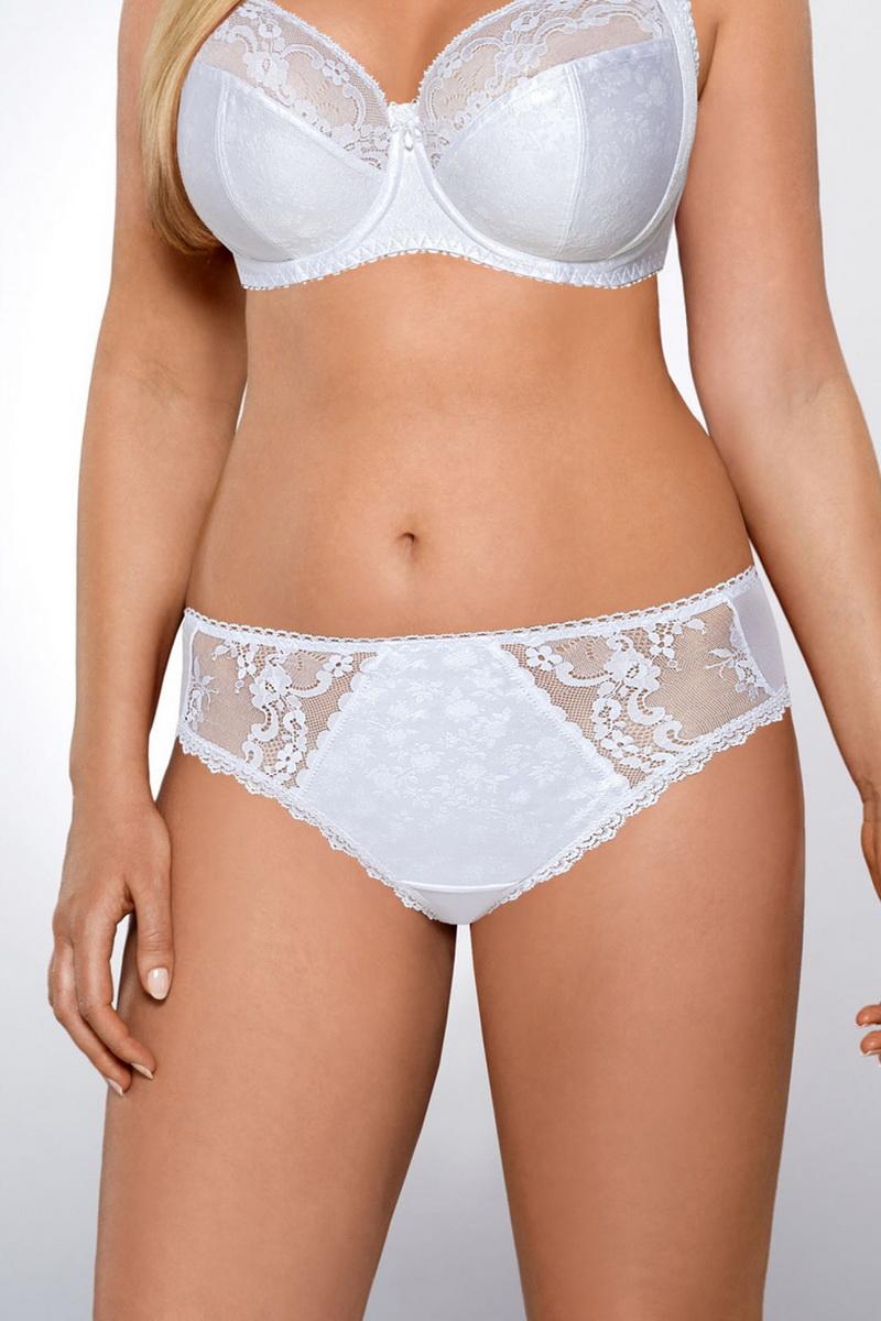 Dámské kalhotky Ava 1130 bílé (velikost M)