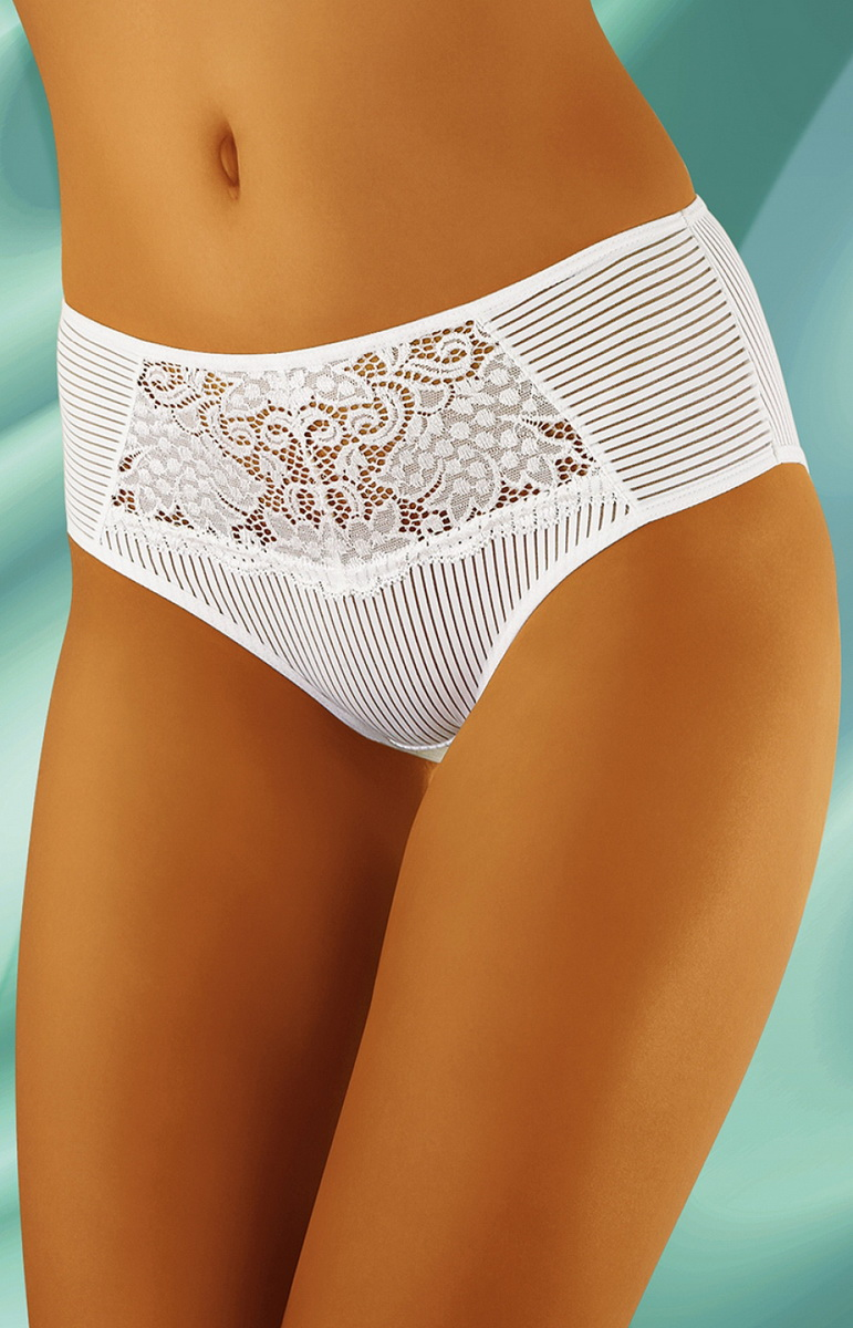 Dámské kalhotky Wolbar eco-LE bílé (velikost XXL)