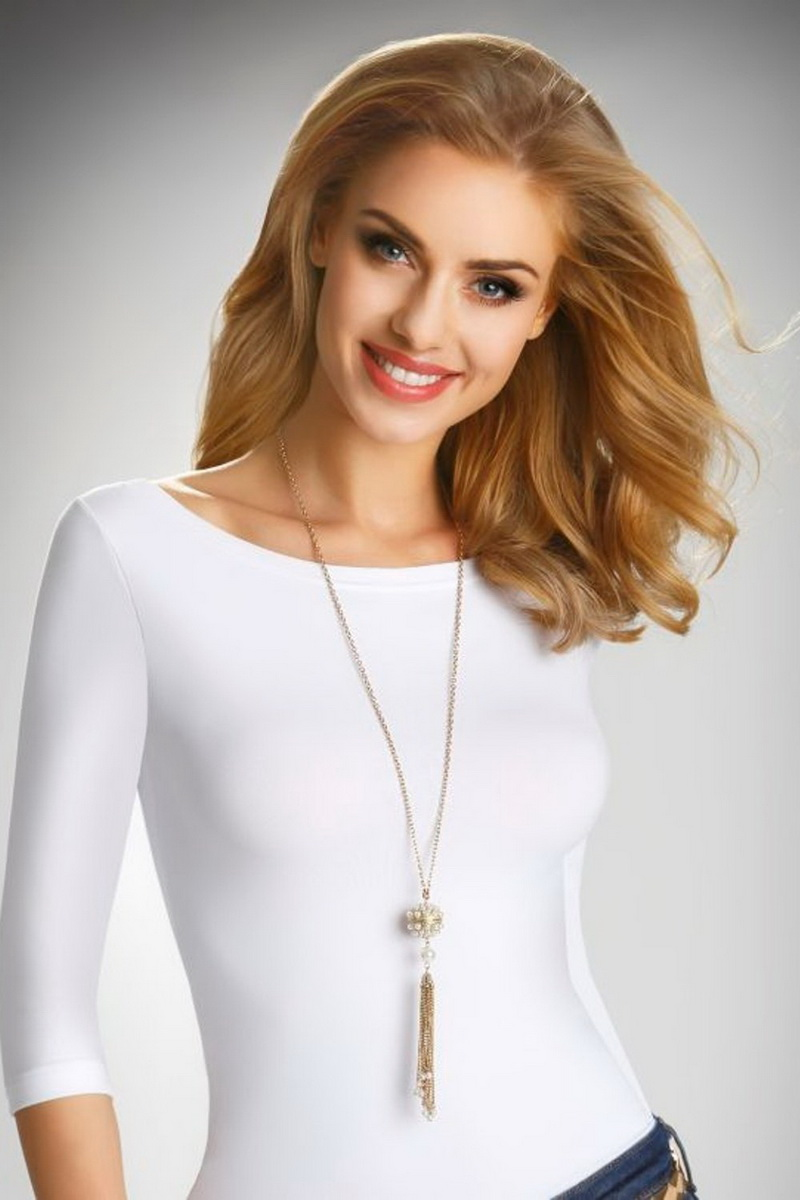 Dámské triko Elda Rita bílé (velikost S)