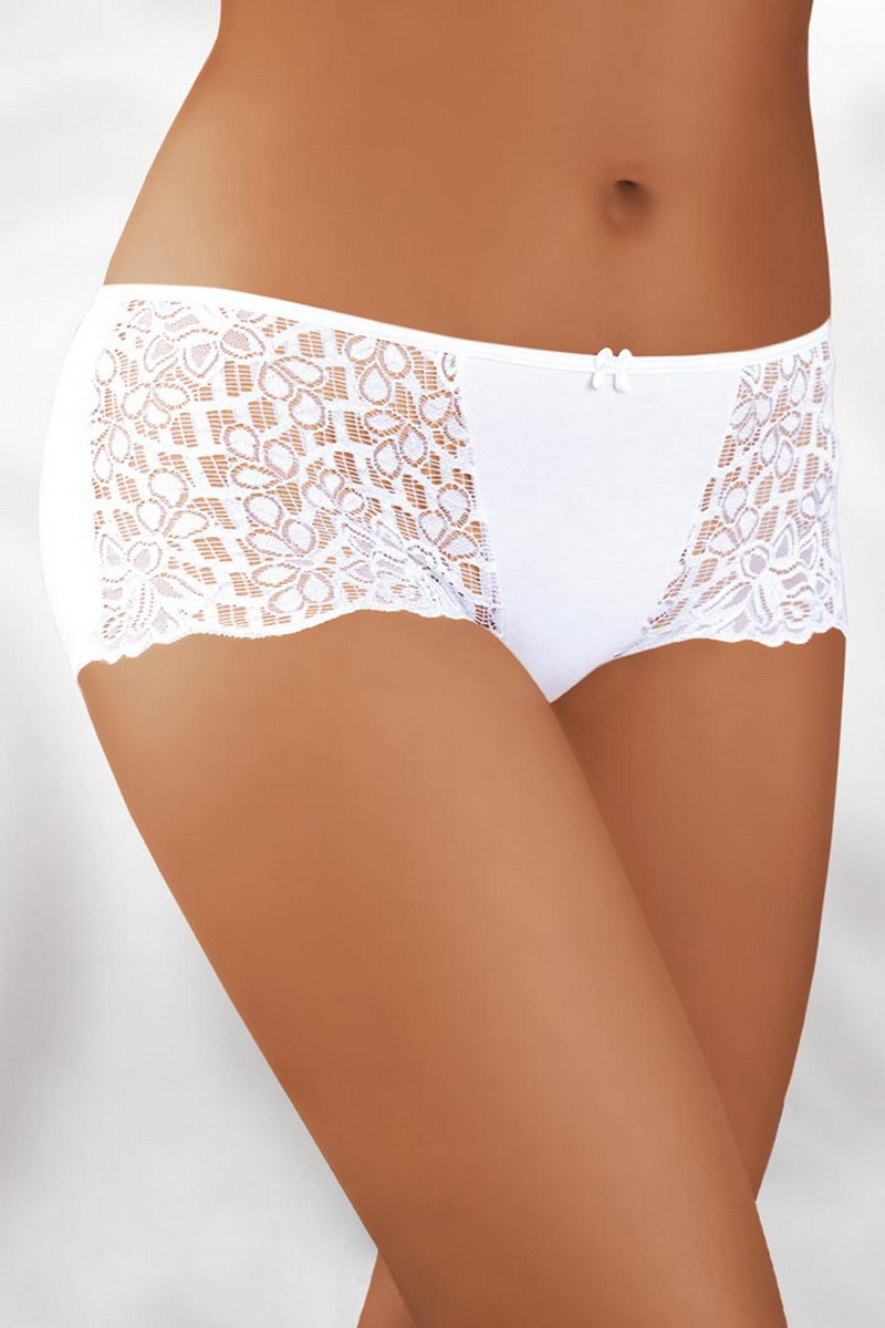 Dámské boxerky Babell 008 bílé (velikost XL)