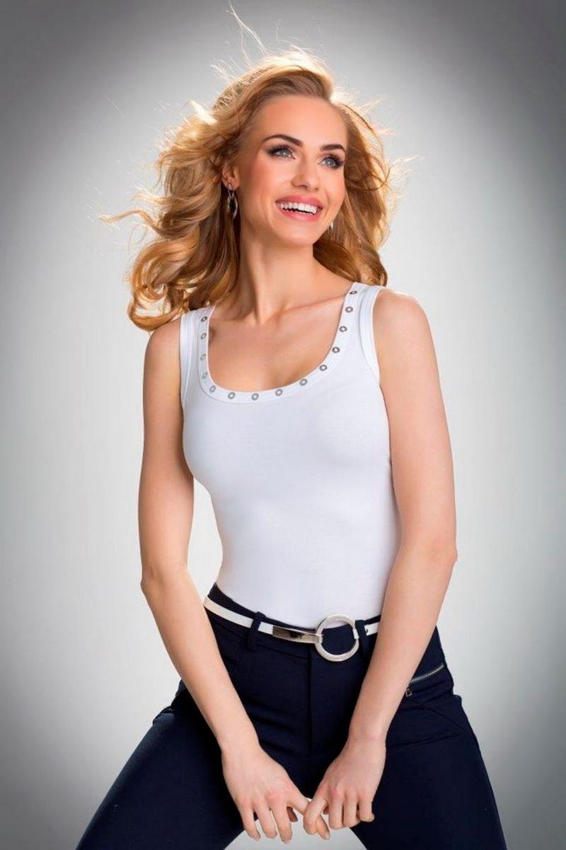 Dámská košilka Eldar Kasandra bílá (velikost XL)