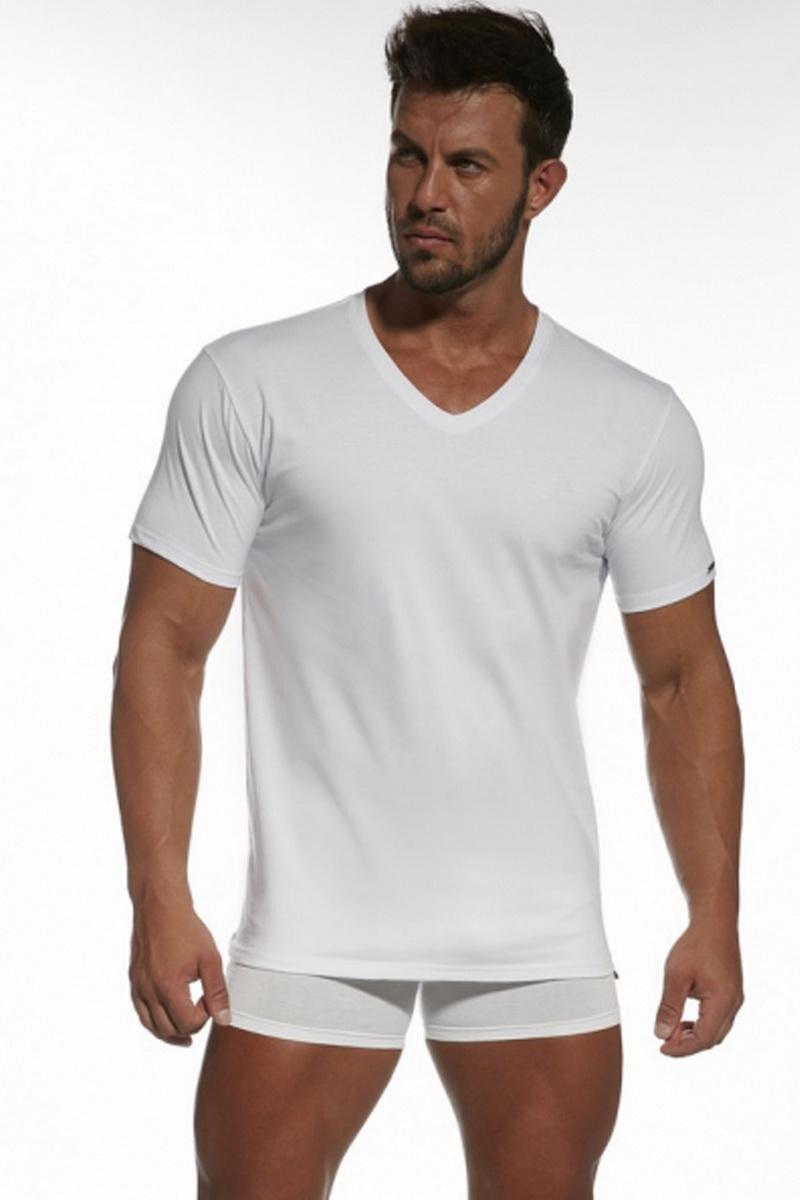 Pánské triko Cornette 201 bílé (velikost XXXL)