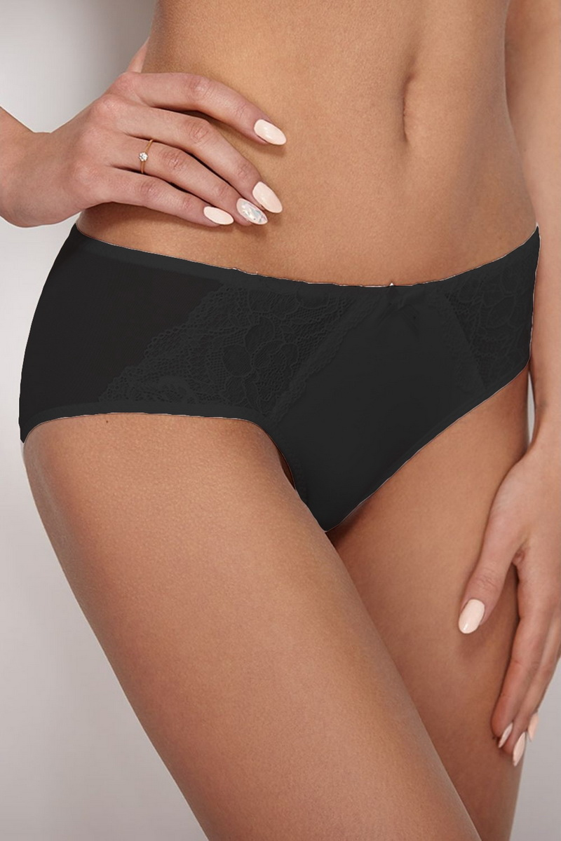 Dámské kalhotky Ewana 072 černé (velikost S)