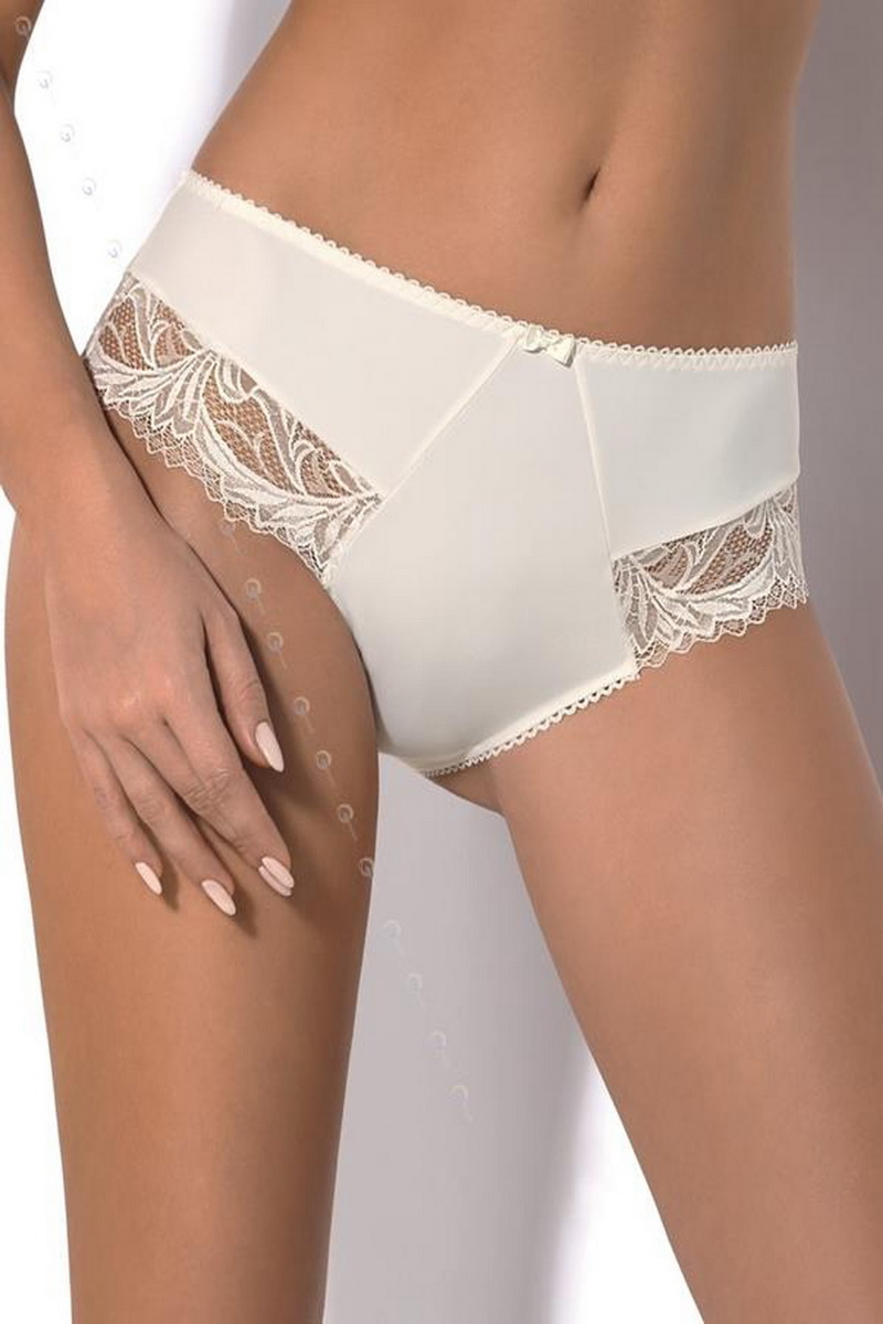 Dámské kalhotky Gorsenia Sara 360 krémové (velikost L)