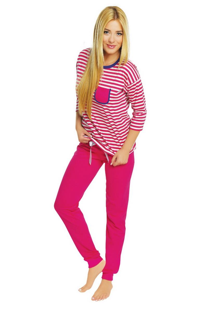 Dámské pyžamo Italian Fashion Malaga růžové (velikost L)