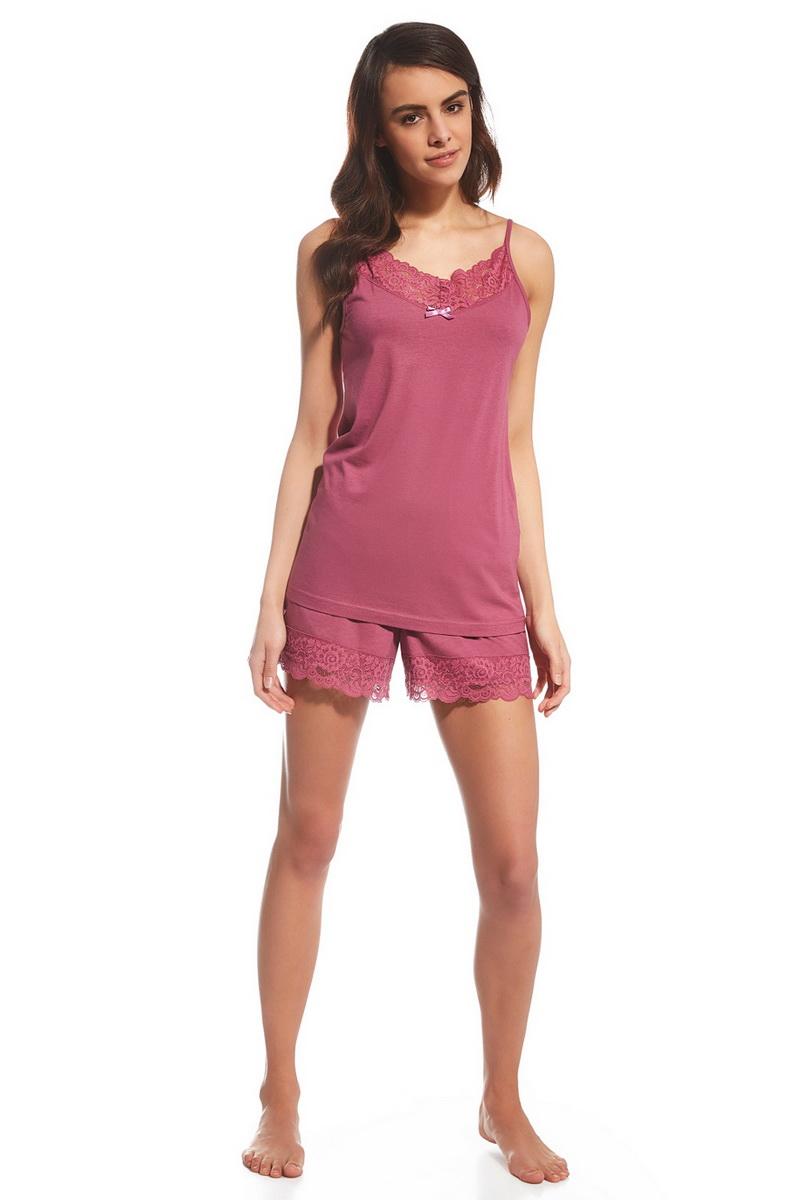 Dámské pyžamo Cornette 060122 Adele růžové (velikost L)