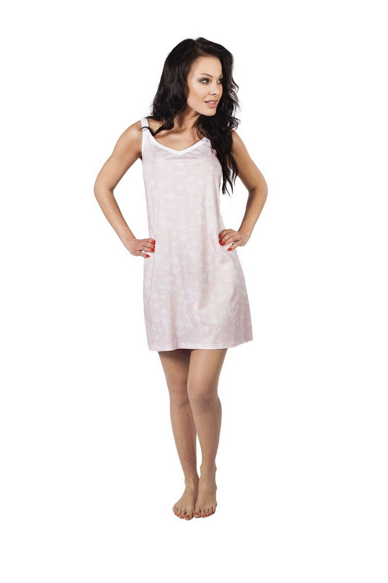 Noční košile Italian Fashion Alisa růžová (velikost M)