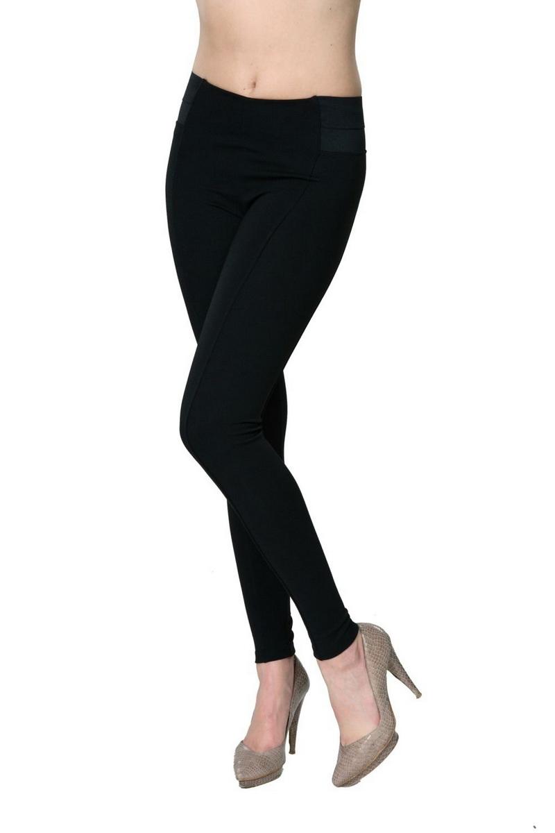 Dámské legíny Italian Fashion 001 černé (velikost XXL)