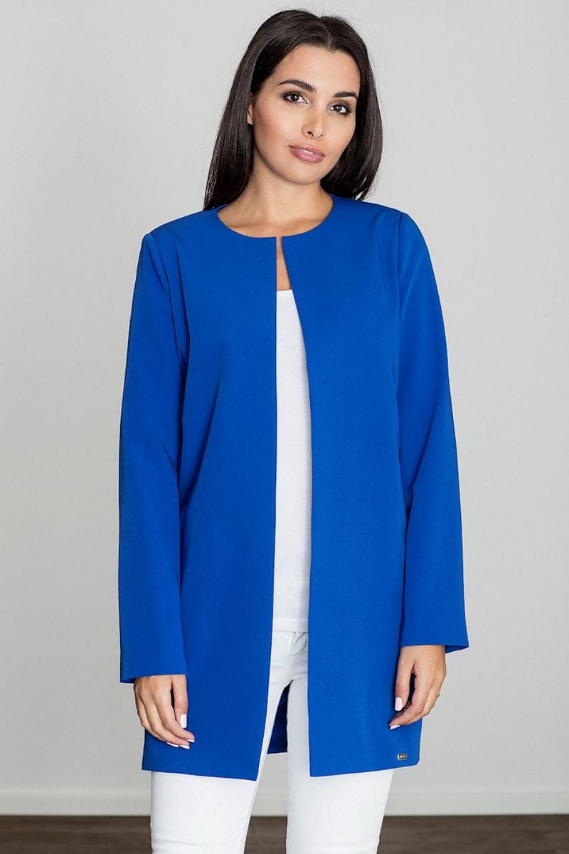 Dámské sako Figl M551 modré (velikost S)