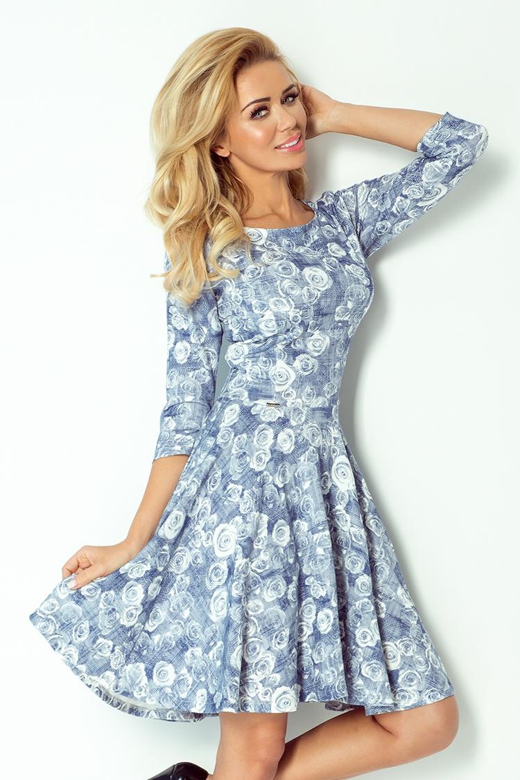 Dámské šaty Numoco 105-1 (velikost S)
