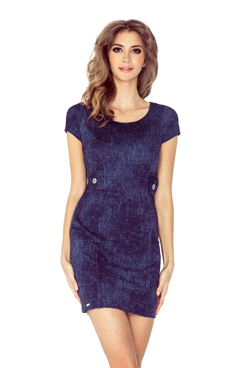 Dámské šaty Morimia 010-2 džínové (velikost XS)