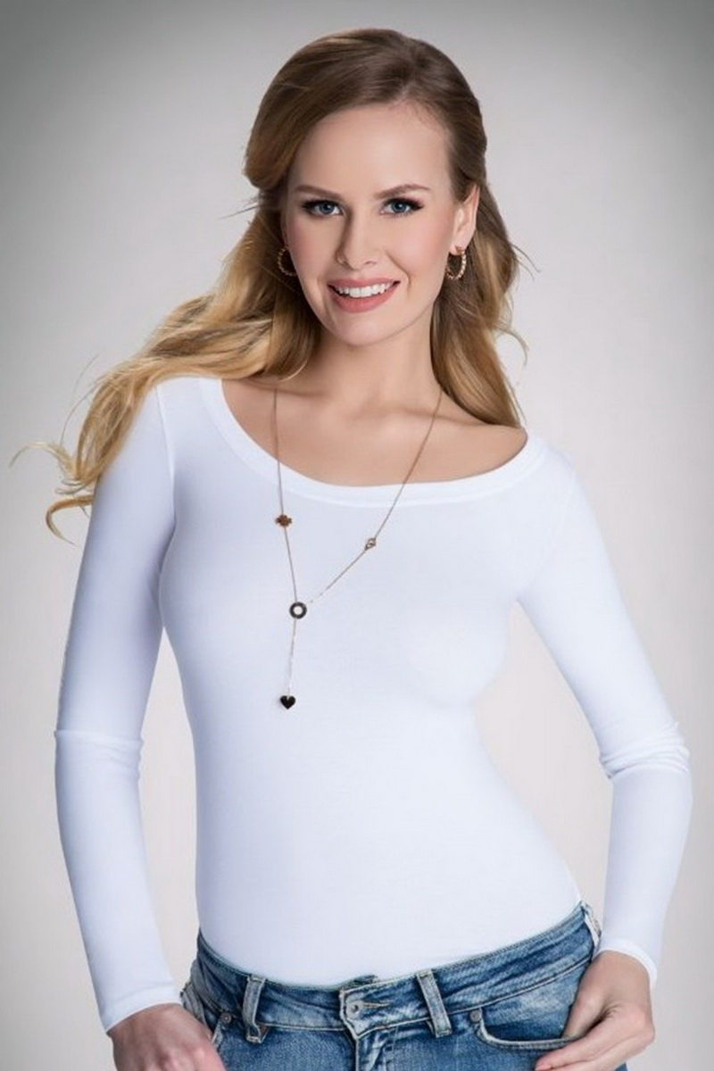 Dámské triko Eldar Petra bílé (velikost S)