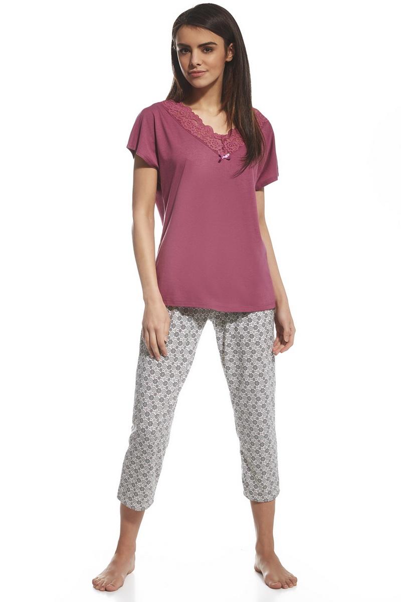 Dámské pyžamo Cornette 059121 Diane růžové (velikost L)
